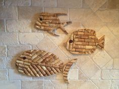 Wine Cork Fish Medium by WellnersNWine on Etsy
