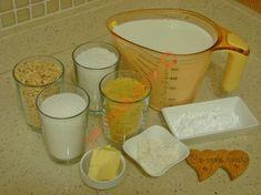 Aslan Sütü Tatlısı İçin Gerekli Malzemeler Liquid Measuring Cup, Dessert Recipes, Desserts, Food Design, Iftar, Tailgate Desserts, Deserts, Desert Recipes, Dessert