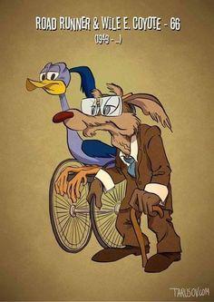 Andrew Tarusov - Aged Cartoon Characters