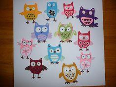 Cricut Hoot 'n' Holler owls