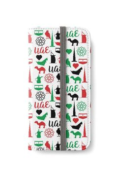 """UAE Pattern"" iPhone Wallets by wowarts | Redbubble   #wowarts #wowartworks #واو_آرت #redbubble #uae #uaenationalday #nationalday #pattern #الإمارات #الإمارات_العربية_المتحدة #اليوم_الوطني #نمط  #Cases #iphone #iphonewallet #iphonecase #accessories"