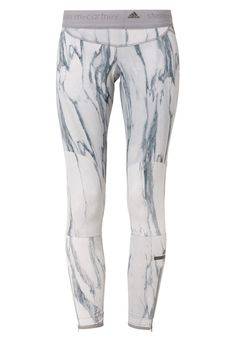 adidas by Stella McCartney RUN - Tights - icegray/multicolor - Zalando.dk