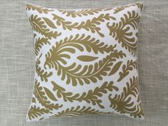 Ikat Cushion Cover with piping