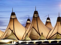 Top 3 Most Beautiful Airports in the World | Denver International Airport is Number One | City Lighting Products | https://www.facebook.com/CityLightingProducts/