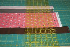 Stripe Quilt Tutorial  Good tutorial.