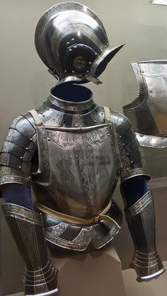 "https://flic.kr/p/9Kj1te | Composed Half Armor German Brunswick 1564 CE blackened etched steel | Photographed at the <a href=""http://www.philamuseum.org/"" rel=""nofollow"">Philadelphia Museum of Art</a>, Philadelphia Pennsylvania."