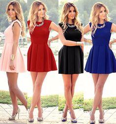 Charming Sleeveless Short Stylish Party Dress