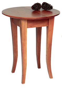 Classic Shaker Round End Table