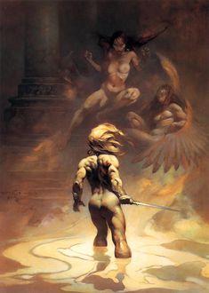 Frank Frazetta #illustrazione #fantasy #storia