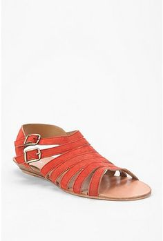 Strappy Mini Wedge Sandals - Urban Outfitters