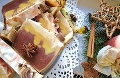 Narancsos- csokis, csoki bonbonnal díszítve- Tudatos Nagyvárosi Lány: Vegán Karácsonyi Szappansütik Lany, Pudding, Cheese, Vegan, Desserts, Food, Tailgate Desserts, Deserts, Custard Pudding
