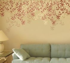 Try our wall art stencils stencils for quick DIY makeover! We offer extra large stencils, wall pattern stencils, wall art stencils for DIY decor. Beautiful and trendy wall painting stencils by Cutting Edge Stencils. Large Wall Stencil, Stencil Wall Art, Tree Stencil, Damask Stencil, Large Stencils, Wall Decals, Stencils Uk, Damask Decor, Cutting Edge Stencils