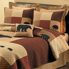 Cabela's Sportsman's Lodge Quilts at Cabela's - would actually ... : black bear quilts - Adamdwight.com