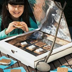 Turn a pizza box into a solar oven. I will be the nerdy mom who does this with her child(ren) lol.