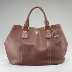 The perfect brown Prada satchel@neimanmarcus natick