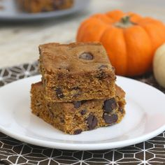 Tracey's Culinary Adventures: Pumpkin Chocolate Chip Squares