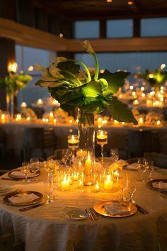 Romantic tropical wedding
