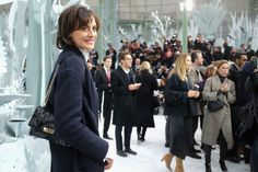 Ines de la Fressange Photos: Front Row at Chanel