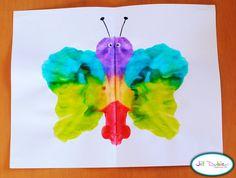 mirror image butterflies | Meet the Dubiens