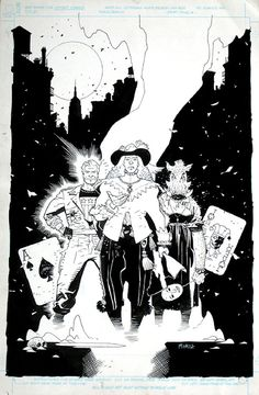 Wild Cards by Mike Mignola