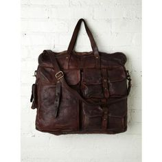 Campomaggi Ressini Travel Bag at Free People - Brown One Size
