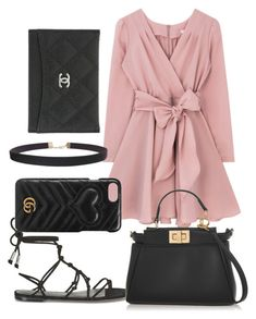 """Untitled #73"" by franciscanunes ❤ liked on Polyvore featuring Rebecca Minkoff, Fendi, Gucci, Humble Chic and Chanel"
