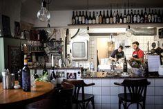 Italiensk restaurant på Christianshavn Rufino Osteria, Strandgade 14,