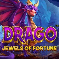 Drago - Jewels of Fortune (RTP 96.50 % | Pragmatic Play) Slot Review - GMBLRS Free Casino Slot Games, Dragon Super, Game Logo Design, Play Slots, Splash Screen, Text Design, Cool Logo, Slot Machine, Headers
