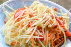 Salade de papaye verte et carotte