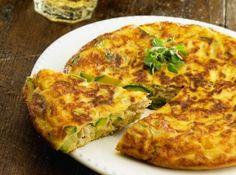 Omelete de Abobrinha e Atum - Veja mais em: http://www.cybercook.com.br/receita-de-omelete-de-abobrinha-e-atum.html?codigo=9908