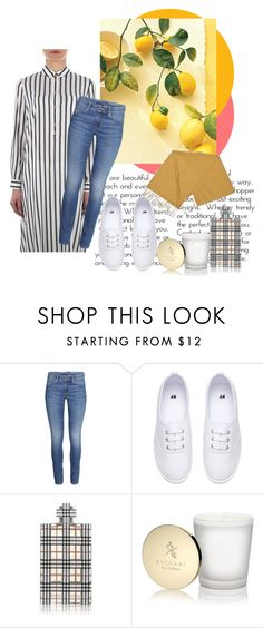 """college"" by sena-88 on Polyvore featuring moda, H&M, Burberry ve Bulgari"