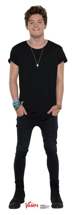 Connor Ball from the Vamps Life Size Cardboard Cutout Standup