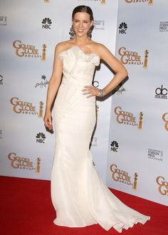 Kate Beckinsale Actress Kate Beckinsale, presenter, poses in the press room at the 66th Annual Golden Globe Awards held at the Beverly Hilto...