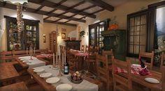 Bistro toscan - Amenajare interioara in stil rustic - Studio inSIGN Restaurant, Rustic, Studio, Italia, Country Primitive, Diner Restaurant, Retro, Studios, Farmhouse Style