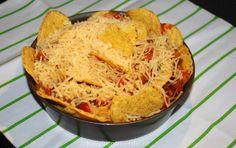 Mexicaanse ovenschotel met tortillachips