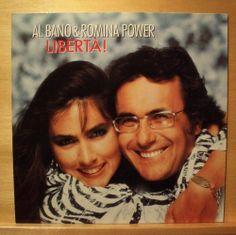 AL BANO & ROMINA POWER - Liberta! - near mint - Vinyl LP - OIS - Italo Disco Pop
