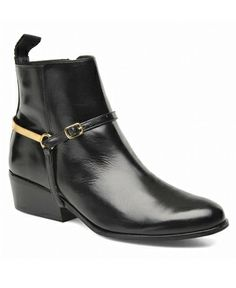Ankle boots noires Georgia Rose