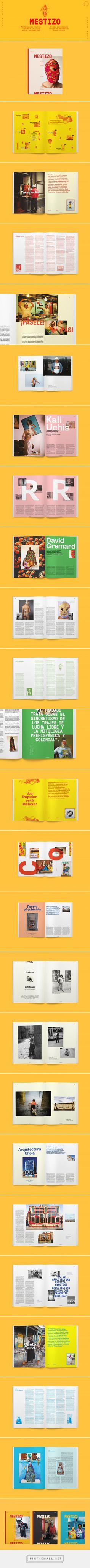 M E S T I Z O Magazine |Nº 0 on Behance - created via https://pinthemall.net
