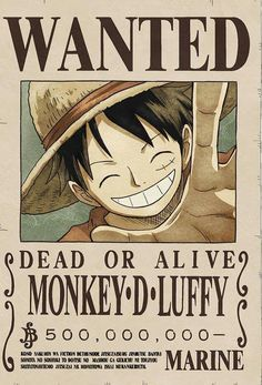 Poster One Piece Mokey D Luffy Recompensa Cartel Se … – Wallpapers Sites One Piece Manga, One Piece Figure, One Piece Ex, One Piece Luffy, Monkey D Luffy, Anime One, Manga Anime, Wanted One Piece, Retro Posters