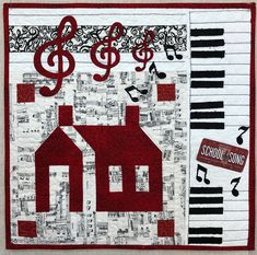 Row by Row Experience - Windy Moon Quilts Golf Quilt, Music Note Logo, Row By Row Experience, School Songs, House Quilts, Mini Quilts, Quilt Blocks, Quilt Patterns, The Row