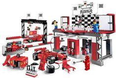 LEGO Ferrari Finish Line