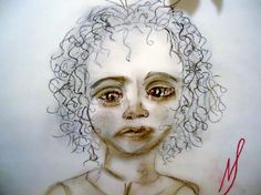 Worried Child The Homeless collection by MarieStarkART on Etsy, $18.50