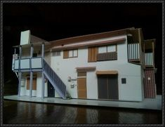 A Japanese Building Paper Model Free Template Download