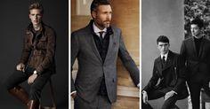 Höstmode 2014 herr - Massimo Dutti, Zara och Hackett London levererar sin tolkning av höstens trender 2014. #mode #fashion #stil #style #mensfashion #herrmode #shirt #suit #kostym #dressat #kläder #Obsid