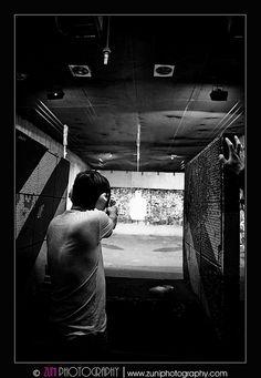 Go shooting at the shooting range