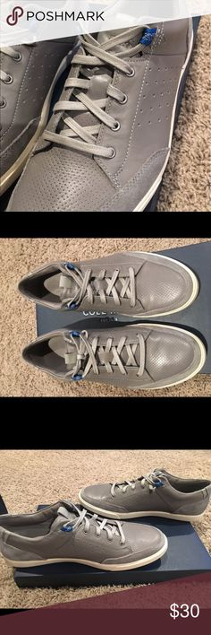 0dca561c5b94ce Cole Haan Owen Sport OX Grey leather and suede trimmed. Dressy casual