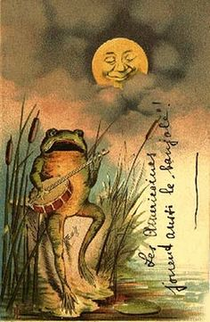 Banjo Strumming Frog, again thanks to Susan Gee!