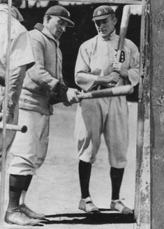 Ty Cobb and Honus Wagner...throw back!