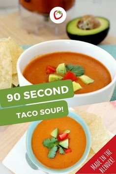 90 Second Taco Soup Recipe | Healthy Ideas for Kids