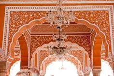 Architectural detail in India